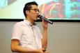 演讲嘉宾Fimmick业务总监赖志伟先生分享社交媒体推广趋势