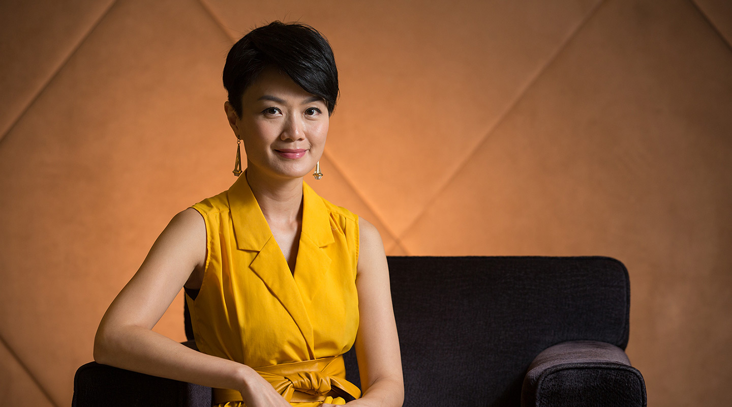 Akina: 'I am an extrovert and take pleasure in hard work.'<em> (Photo by Keith Hiro)</em>