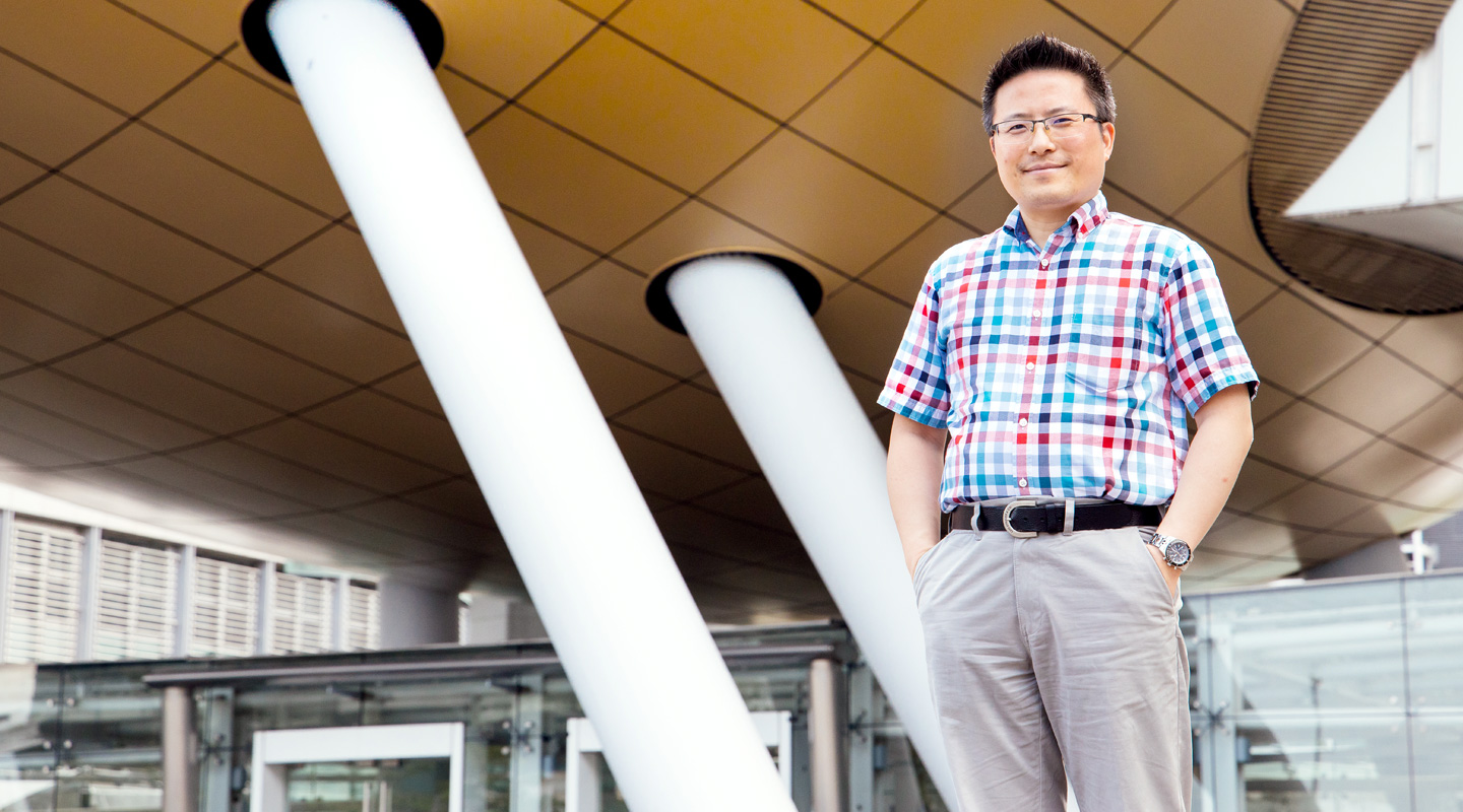Dr. Alan Pang, a homegrown talent who knocks on the future