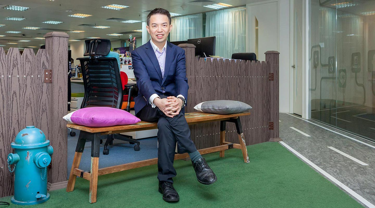 BBA alumnus Alan Yip is Chairman and CEO of Guru Online