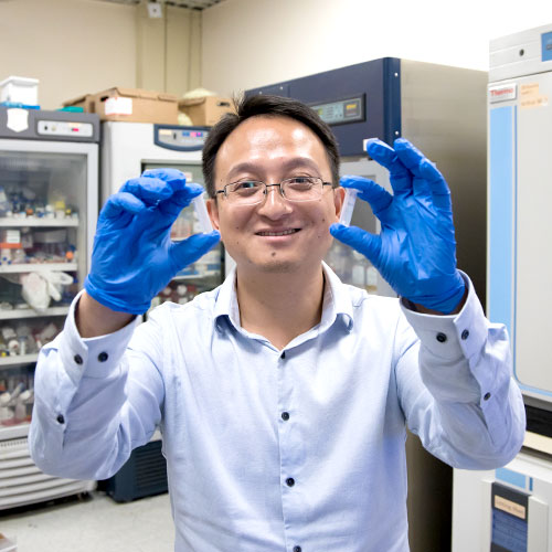 The Helping Hand of Hydrogels