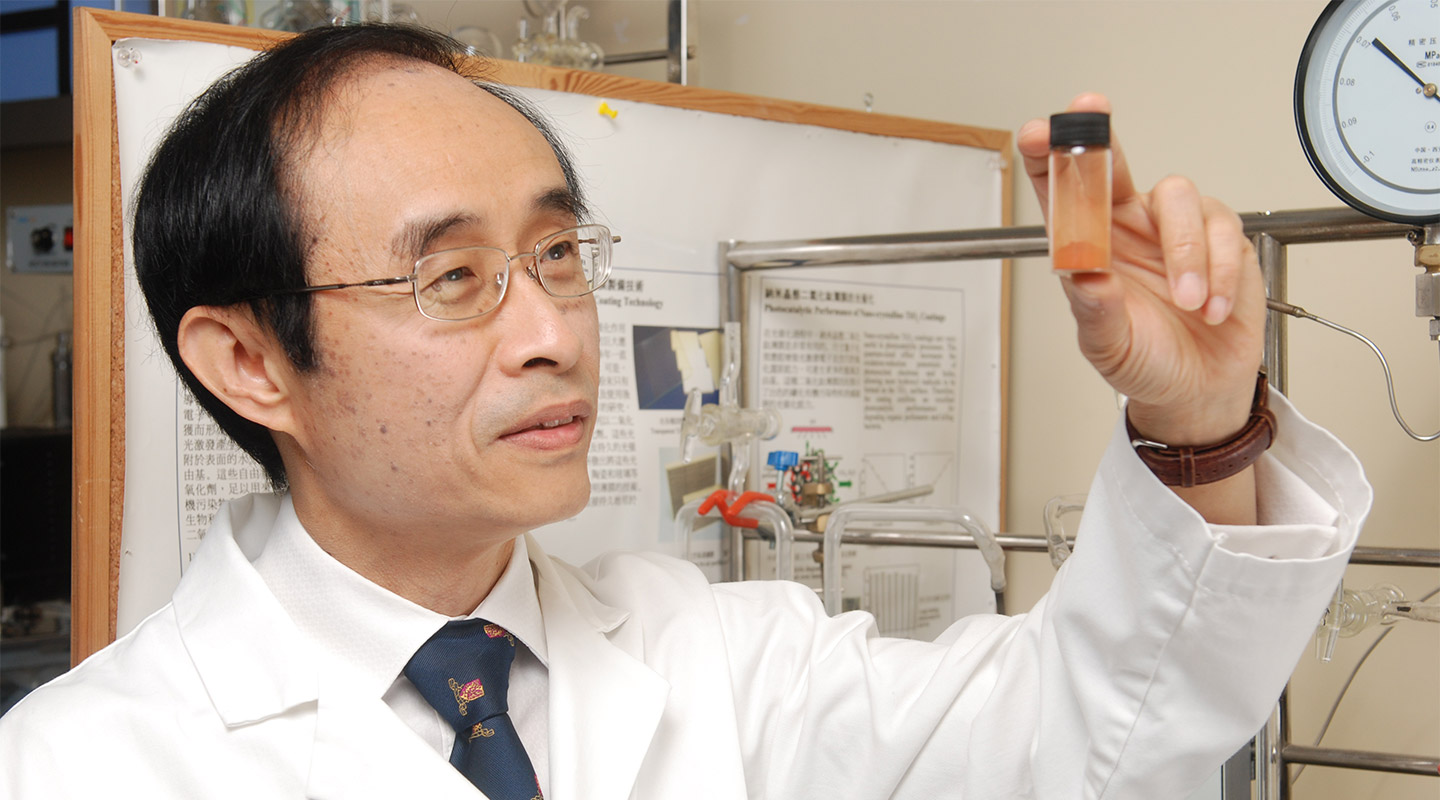 Prof. Jimmy Yu uncovers a single element that produces clean-burning hydrogen from just water and sunlight