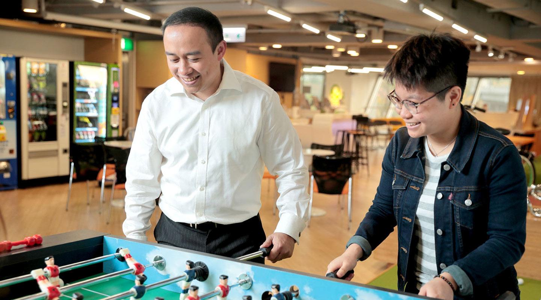 吳家嘉:「搞科創等於與時間競賽,要邊做邊調整策略。」