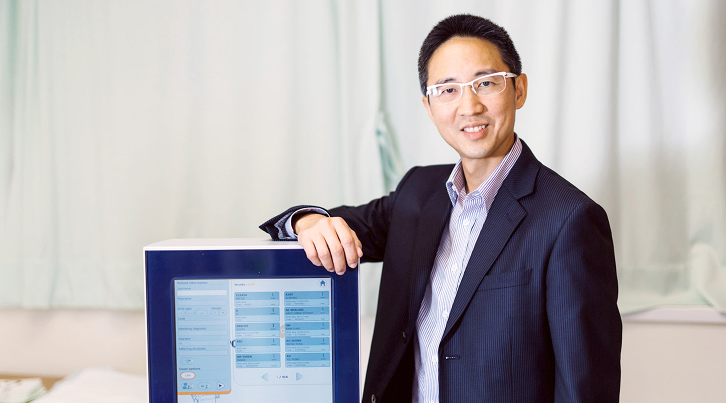 Professor Chan develops a scoring system to help general-practice doctors identify patients with a high risk of contracting liver cancer