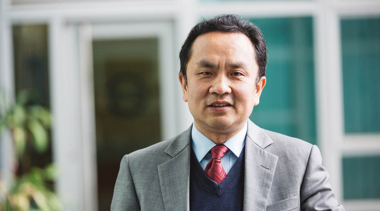Prof. Liu Yun-hui, Department of Mechanical and Automation Engineering