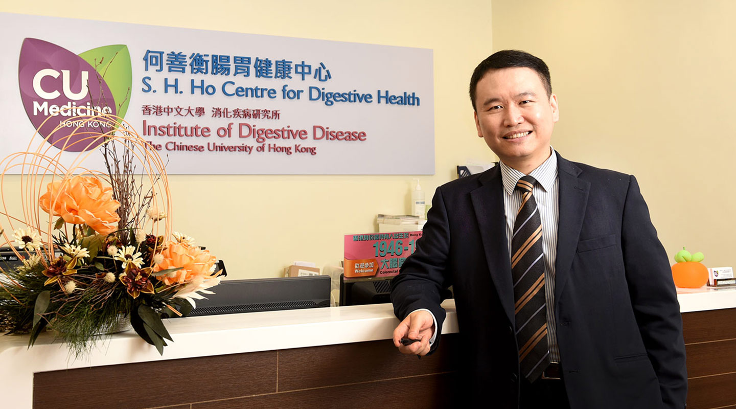 Professor Wong began life as a typical family doctor before getting interested in public health as a speciality and joining CUHK's Faculty of Medicine