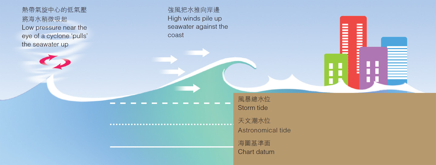 Formation of Storm Surge