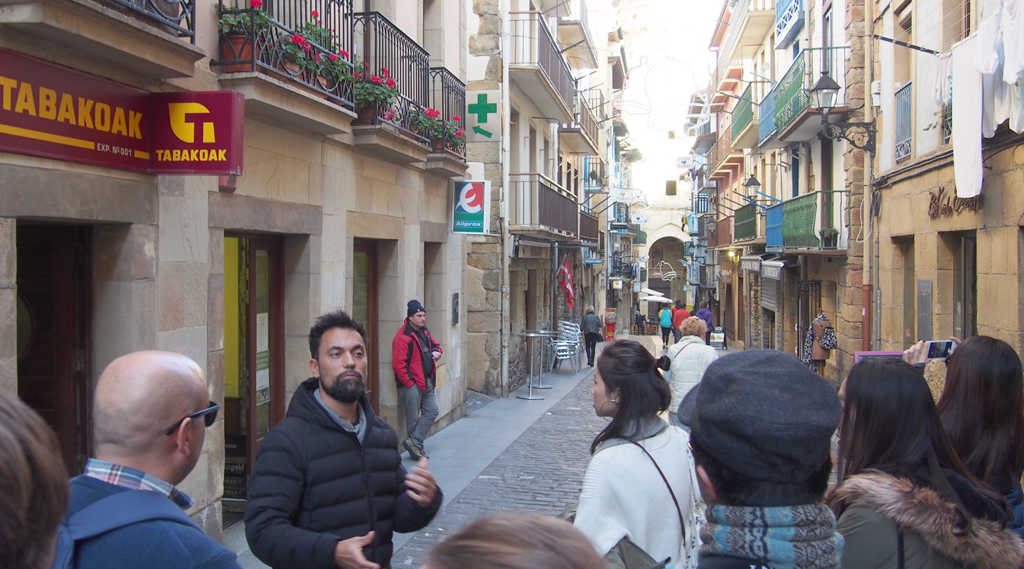 Observing the tourists in Getaria, Spain and assessing their potential impact on the locals