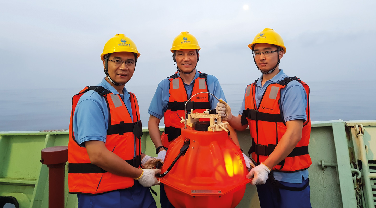 Prof. Yang Hongfeng Takes the Pulse of Earthquakes in Indian Ocean