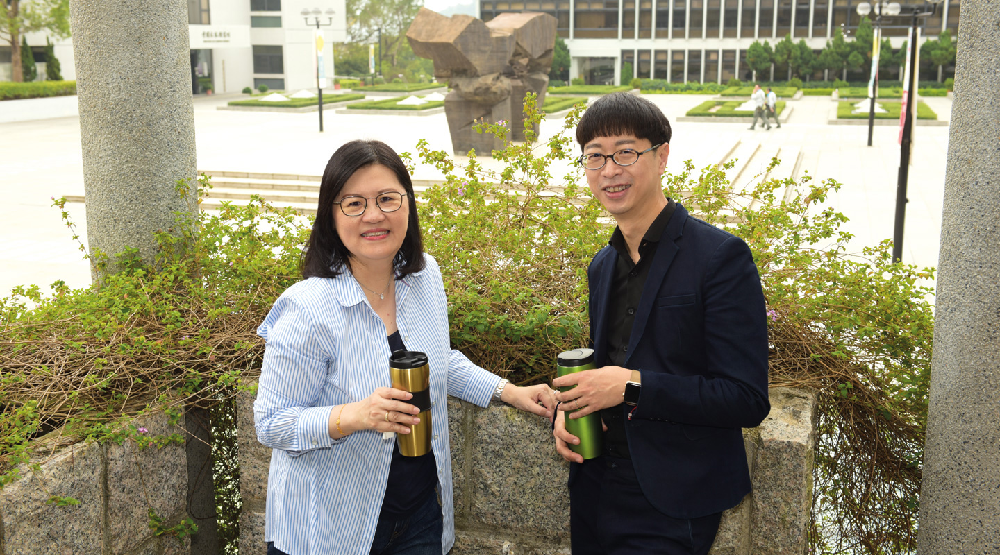 Prof. Diana Lee <em>(left)</em> and Prof. Anthony Fung <em>(right)</em>