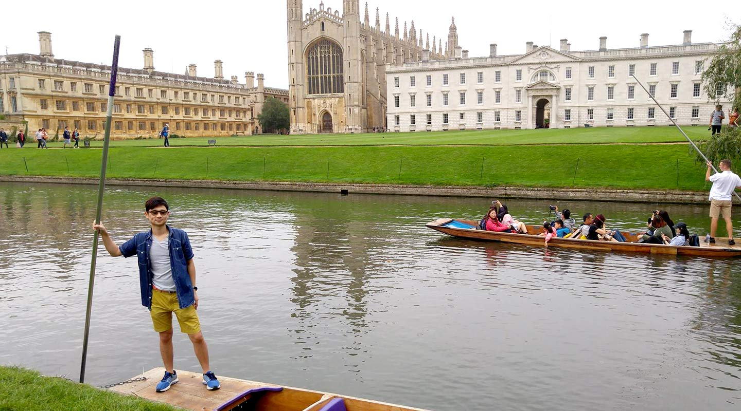Jonathan Lee goes on exchange at the University of Cambridge
