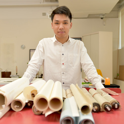 Mike Leung, Junior Conservator Serving with Respect