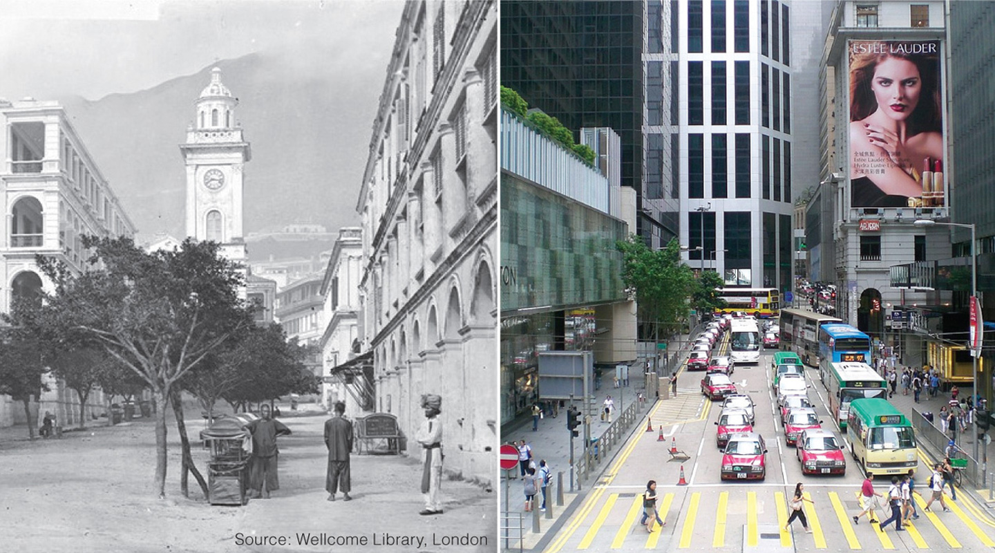 A Curious Time Travel to the Old Hong Kong