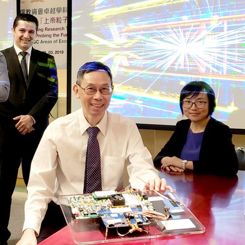 CUHK-led Research Team in God Particle Experiment to be Funded as AoE