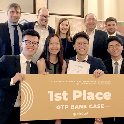 Business Students Win International Case Competition