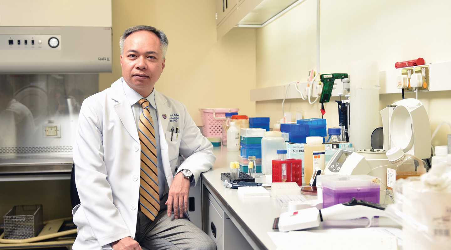 Prof. Paul K.S. Chan <em>(Photo by ISO Staff)</em>