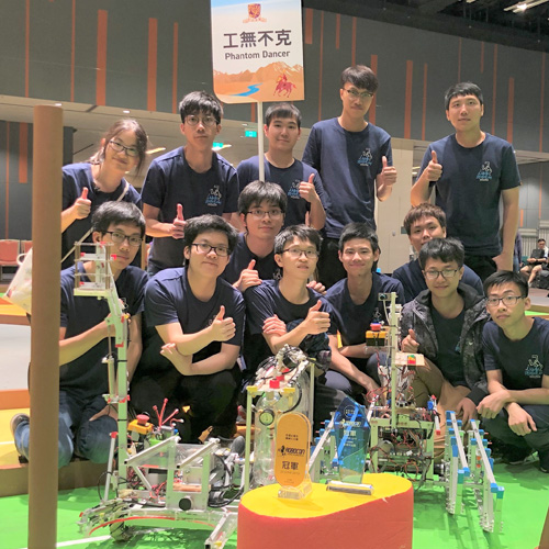 CUHK Crowned Champion at Robocon