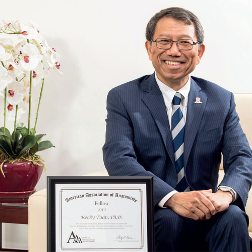 Vice-Chancellor Conferred American Association of Anatomists Fellowship