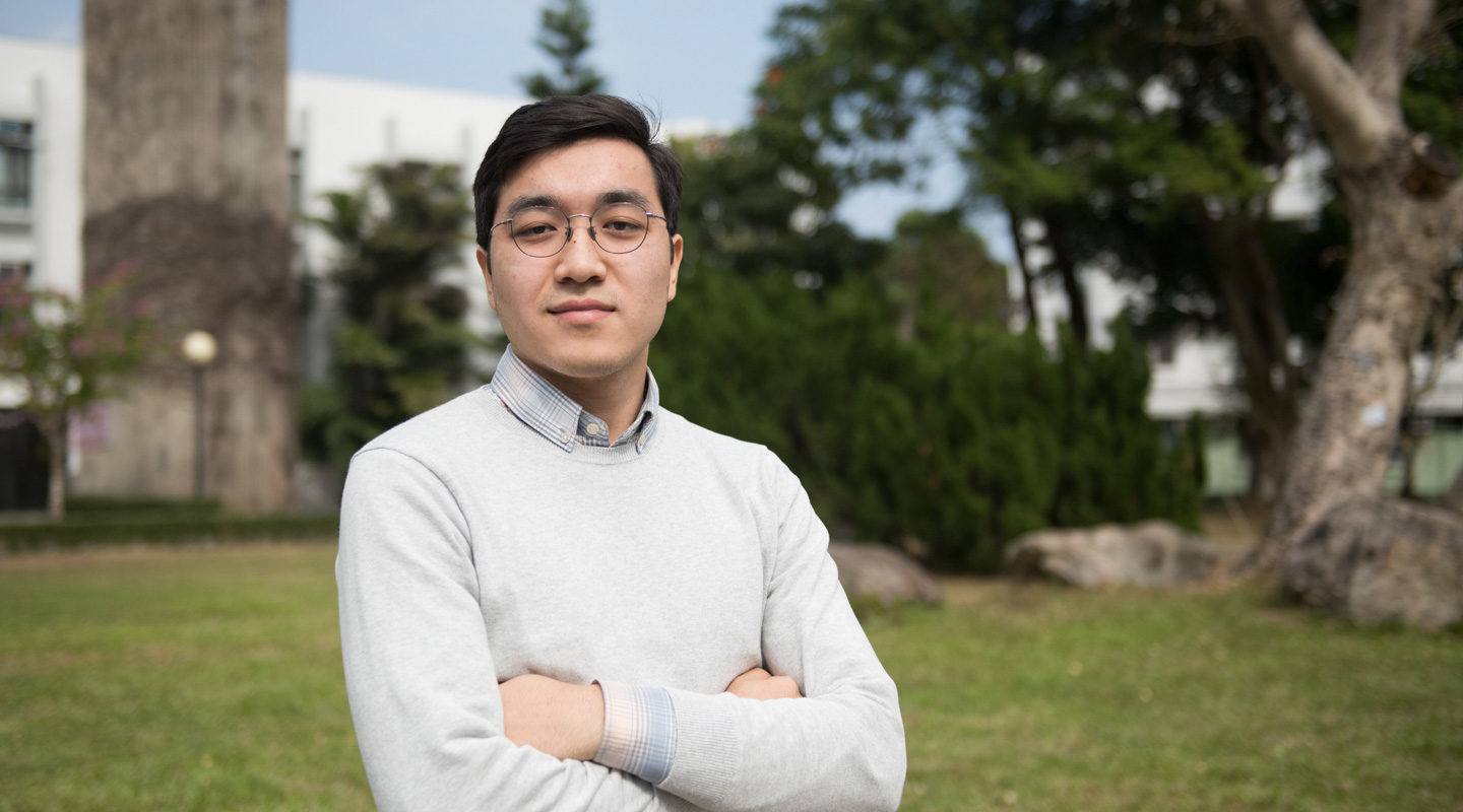 Darkhan appreciates the support given by his teachers here at CUHK when it comes to personal growth as well as academic development