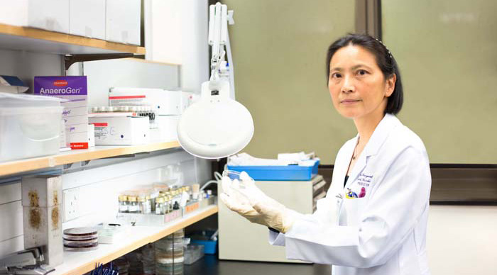 Prof. Margaret Ip, Department of Microbiology