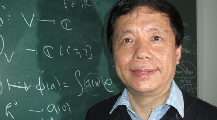 Professor Xin Zhouping, William M. W. Mong Professor of Mathematics at CUHK