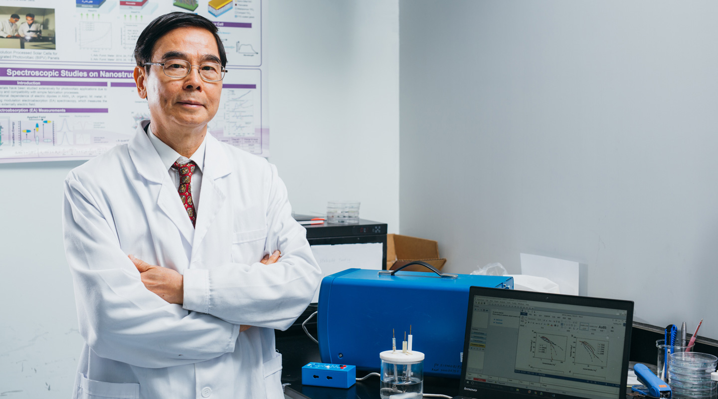 Prof. Wong Ching-ping, Dean of the Faculty of Engineering