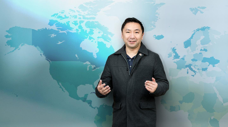 白杰:「其实海外还有很多人想学广东话,最重要是有人愿意投放资源,提供专业的学习环境。」<em>(Keith Hiro摄)</em>