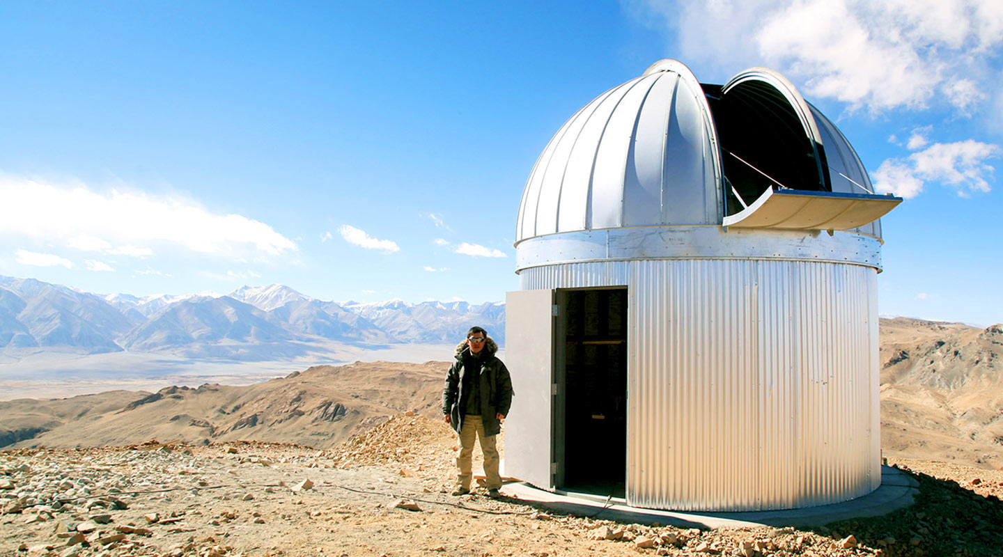 Savio Fong has built the sixth highest observatory of the world at 5,100 m altitude in Tibet <em>(Courtesy of the interviewee)</em>