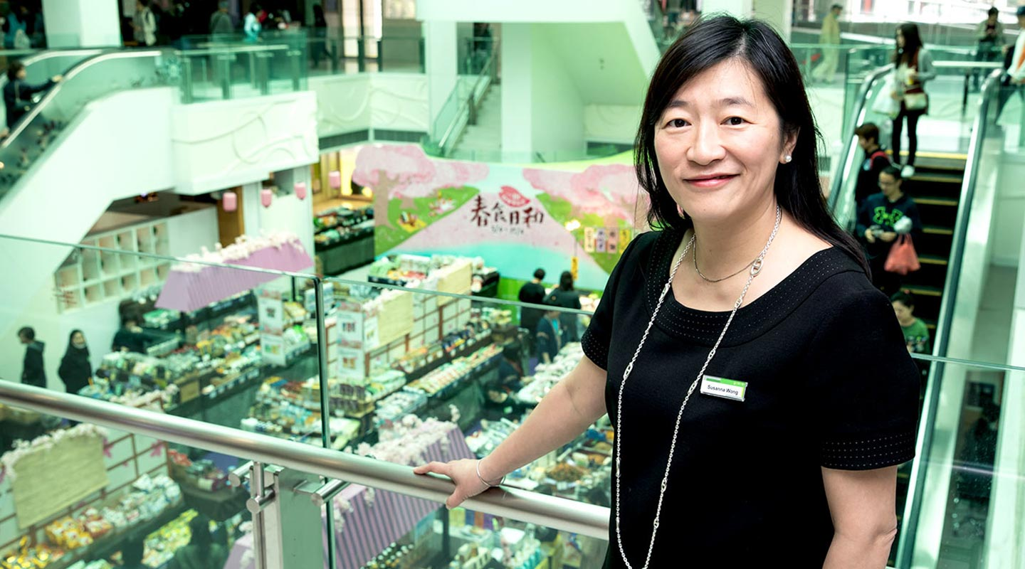 Upon her appointment, Susanna has dedicated her efforts to expanding YATA's retail presence