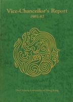 Vice-Chancellor's Report 1985–87