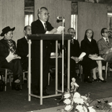 United College: CUHK campus groundbreaking ceremony in March 1971