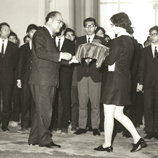 Inauguration of Chinese University Student Union, 1971