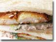 Fish Fillet and Tuna Sandwich